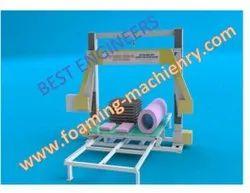 CNC HORIZONTAL WIRE CONTOUR FOAM CUTTING MACHINE
