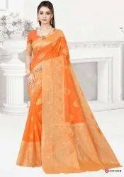 Fancy Banarasi Silk Saree