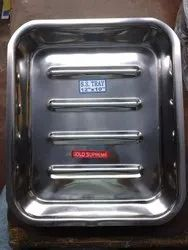 Surgical Stainless Steel Trays 12X10