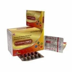 Ginseng With Vitamins Minerals And Antioxidants Soft Gelatin Capsules