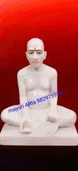 Marble Gajanan Baba Statue