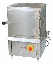 Stainless Steel KD-PE-09 Idli Steamer, 240 V, Capacity: 100 Idli/Hr