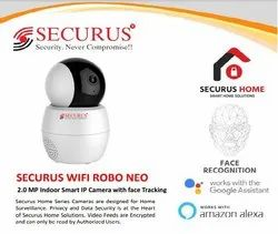 Securus Wifi Robo Neo 2.0 Mp Indoor Smart Ip Camera With Face Tracking
