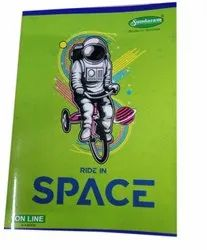 Sundaram Single Line A4 Writing Notebook, For School And College