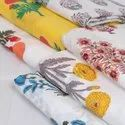 Hand Block Printed Knitted Cotton Fabric Supplier Wholesaler