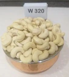 Natural Wholes Raw Cashew Nuts, Grade: W320