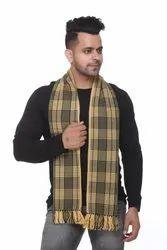 Check Woolen Men Scarves