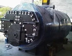 Solid Fuel Fired 1.5 TPH Three Pass Packaged Steam Boiler IBR Approved