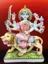 Marble God Statue Durga Maa
