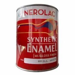 High Gloss Brill White Nerolac Synthetic Enamel Paint