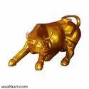Charging Bull (Stock Market Rising Upmarket Trend)