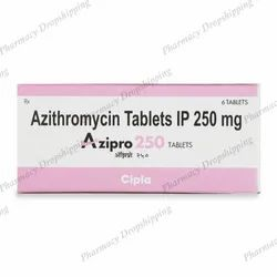 Azipro 250 Mg Tablet