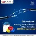 VR Kable 6.00 Sq Mm HDFR Unilayer Wire Blue
