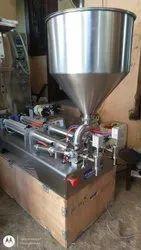 Paste Filling Machine Double Nozzle