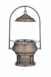Smokey Brass Hyatt Mahal Chafing Dish