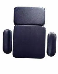 Rectangular Black Leather Chair Mattress