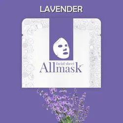 Lavender Facial Sheet Mask - Private Label