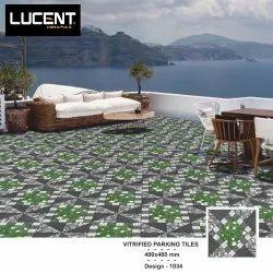 16x16 Green Parking Tiles
