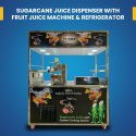 Commercial Sugarcane Juice Machine With Fruit Juice Machine Cart