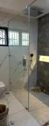 Toughened Glass Shower Partitions