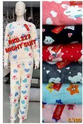 imported 7 COLOR Ladies Designer Night Suits