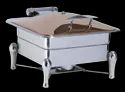 Grand Square Hydraulic Rose Gold Chafer