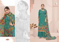 Alok Aabru 2 French Crep Designer Dress Material Collection