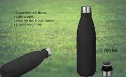 Stainless Steel Matt Black Bottle