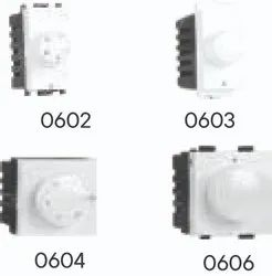 Precision Regulators and Dimmers, Number Of Modules: 1M,2M, 250W