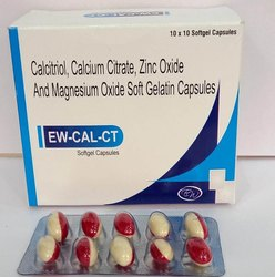 Calcitriol, Calcium Citrate, Magnesium Oxide And Zinc Softgels(Wescal-CT)