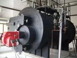 Oil & Gas Fired 2 TPH Steam Boiler, IBR Approved