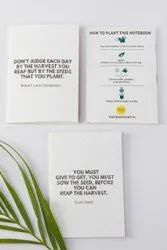 Plantable Seed Paper Notebook