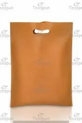 Handle Type: D Cut Plain Non Woven Fabric Bag, For Grocery