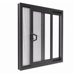 Powder Coated Aluminium Sliding Window, For Home