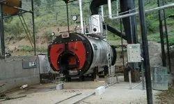Wood Fired 1000 kg/hr Package Steam Boiler