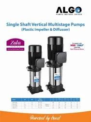 100 Mtr To 120 Mtr Single Shaft Vertical Multistage Pump, 1 Phase & 3 Phase, Max Flow Rate: 4000 Lph