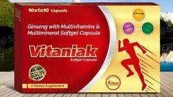 Vitaniak Softgel Capsules, Treatment: For Dietary Supplement
