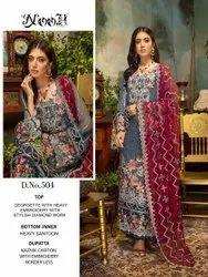 Noor Ramsha 4 Georgette Wear Pakistani Salwar Kameez Collection