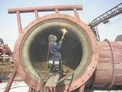 HVOF Coating In Steel Plant