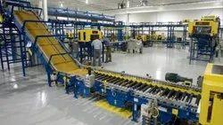 Industrial Material Handling Conveyor
