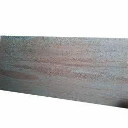 Polished Ivory Chiffon Granite Slab, For Flooring, Thickness: 20 mm