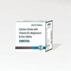 Calcium Carbonate Magnesium Hydroxide  Zinc Sulphate Vitamin