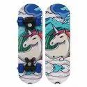 Wood Strauss Kids Skateboard (white Horse) ( St-2234 ), For Skateboarding, Size: Small