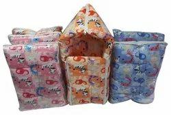 Cotton Printed Sleeping Bag, 3-12 Months