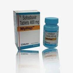 Myhep Sofosbuvir Tablets 400mg