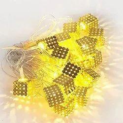 METAL  CUBE LED LIGHT 16 LAMP