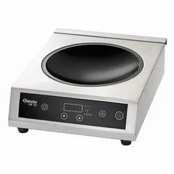 COMMERCIAL INDUCTION WOK 3500 W