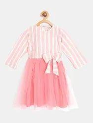 Pink Girl Bella Moda Frocks And Dresses