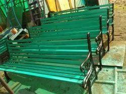 Caste Iron Garden Bench