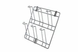 6 glass wall hanging stand